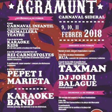 Carnaval d'Agramunt 2018