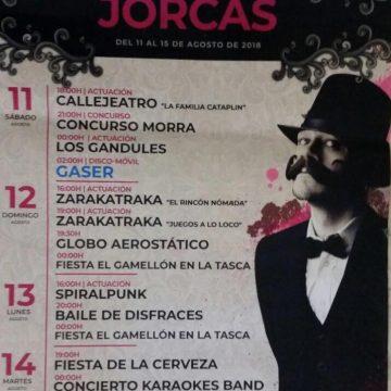 Fiesta mayor 2018 de Jorcas